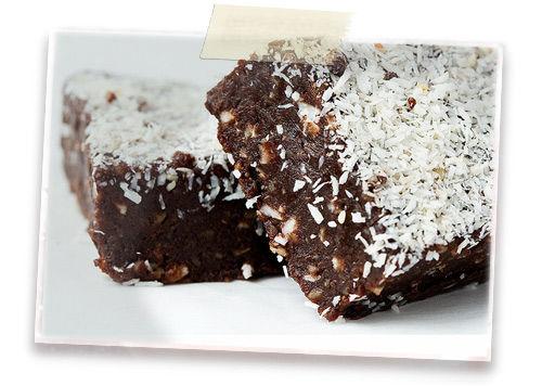 brownie chocolat noix de coco emilie charignon. Black Bedroom Furniture Sets. Home Design Ideas