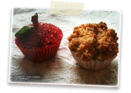 Mini cupcake la pomme cannelle version classique version crumble o trouver les - Ou trouver des caisses u00e0 pommes ...